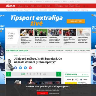 ArchiveBay.com - isport.blesk.cz/clanek/fotbal-1-liga-rocnik-2019-20/375804/jilek-pod-palbou-hraci-bez-ohne-co-ukazala-domaci-prohra-sparty.html - Jílek pod palbou, hráči bez ohně. Co ukázala domácí prohra Sparty- - iSport.cz