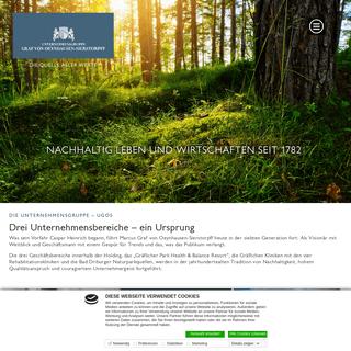 Startseite - Unternehmensgruppe Graf von Oeynhausen-Sierstorpff