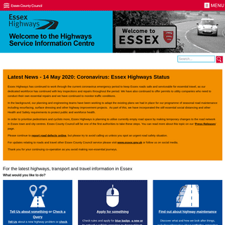 Essex Highways - Essex County Council