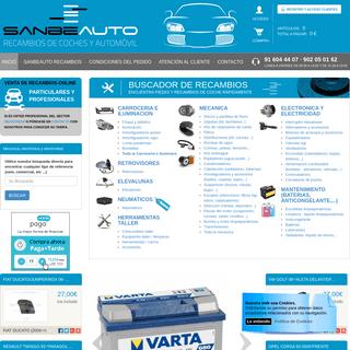 ArchiveBay.com - sanbeauto.es - Recambios de automovil via web - Comprar piezas y recambios para coche - Sanbeauto