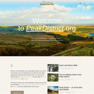 Peak District - Your Essential Guide To The National Park