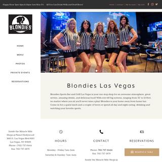 Blondies Sports Bar & Grill