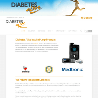 Diabetes Alive - Helping find a cure