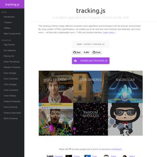 ArchiveBay.com - trackingjs.com - tracking.js