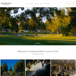 Home - Antelope Valley Country Club