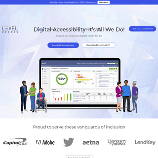 LevelAccess.com- ADA Compliance, 508 Compliance, WCAG, VPAT