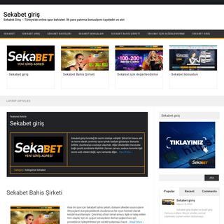 Sekabet giriş - Sekabet Giriş - Türkiye'de online spor bahisleri. İlk para yatırma bonuslarını kaydedin ve alın