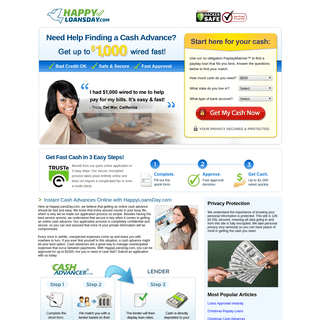 ArchiveBay.com - happyloansday.com - Instant Cash Advances Online 👍 - Payday Loans Online & Securely at HappyLoansDay.com