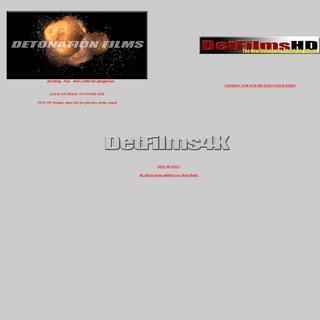 Detonation Films
