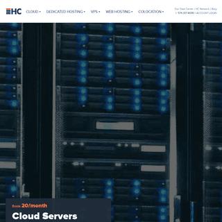 Cloud & Dedicated Servers - Web Hosting & Managed Website - HC