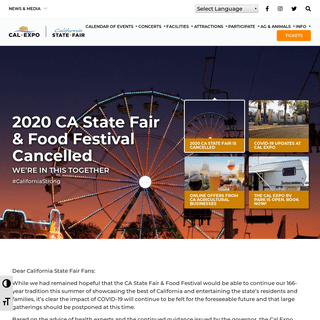 Home - Cal Expo - Cal Expo & State Fair