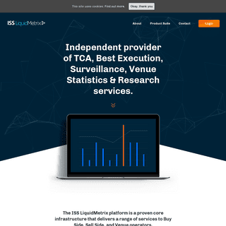 ISS LiquidMetrix - TCA, Best Execution, Surveillance, Venue Statistics & Research services