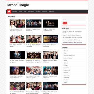 Mzansi Magic Full Episodes Free Videos Watch Online