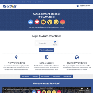 Auto Reaction - Get Free Facebook Reactions or Likes