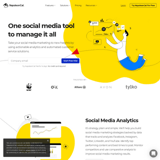ArchiveBay.com - napoleoncat.com - One social media tool to manage it all