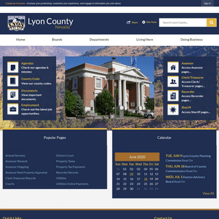 Lyon County, NV - Official Website - Official Website