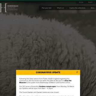 Homepage - Horniman Museum and Gardens