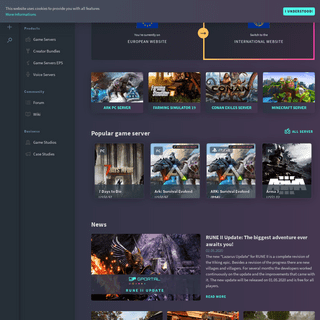 Premium Prepaid Game Servers and Hosting