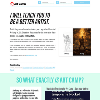 Art Camp - Learn Together