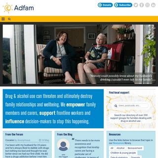 Home - Adfam