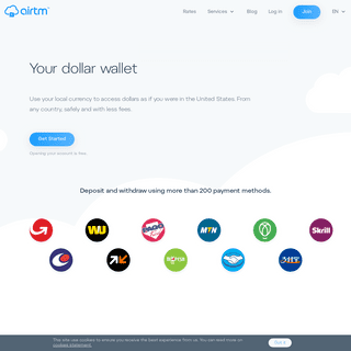 Airtm - Your dollar wallet without limits