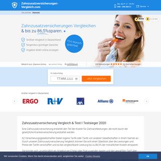 Zahnzusatzversicherung Vergleich - Die besten Anbieter 2020