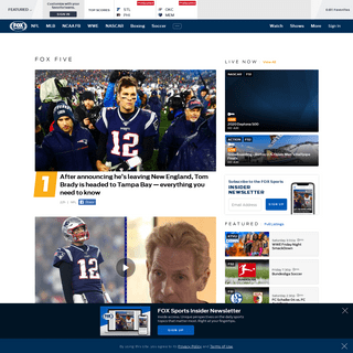 Home - Sports News, Scores, Schedules, and Videos - FOX Sports