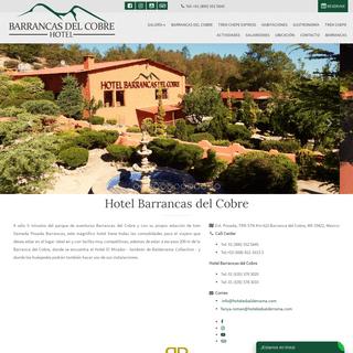 Hotel Barrancas del Cobre - Barranca del Cobre - Mexico