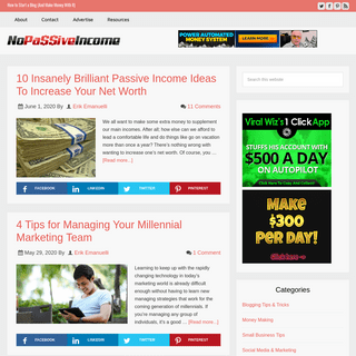 No Passive Income - Take Action, Build Your Business!