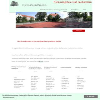 A complete backup of gymnasium-brandis.de