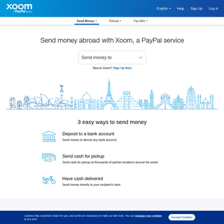 Send Money Online - Xoom, a PayPal Service