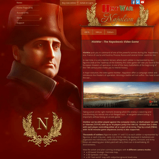Video Game - HistWar - Napoleon