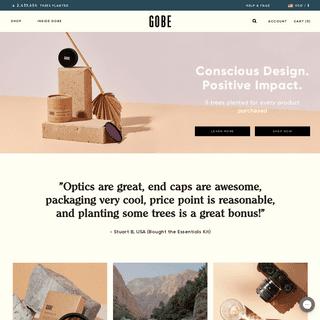Gobe - Camera Accessories for Conscious Creators