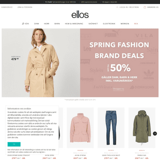 ArchiveBay.com - ellos.se - Mode, kläder & inredning online – köp dina kläder & skor på nätet - Ellos.se