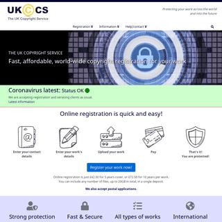 UK Copyright Service - UK and International Copyright Registration Centre