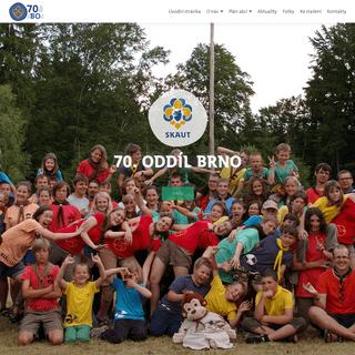 70Bo – Stránky 70. oddílu Junáka Brno – Webové stránky 70. oddílu Junáka Brna