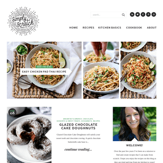 Simply Scratch - Delicious recipes made simply from scratch