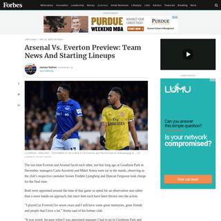 ArchiveBay.com - www.forbes.com/sites/jamesnalton/2020/02/23/arsenal-vs-everton-preview-team-news-and-starting-lineups/ - Arsenal Vs. Everton Preview- Team News And Starting Lineups