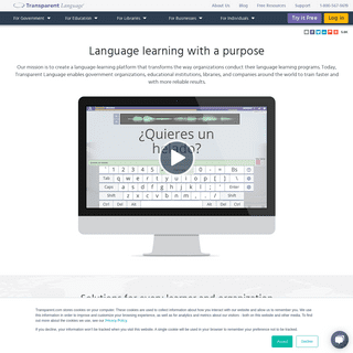 Language-Learning Software and Online Courses - Transparent Language