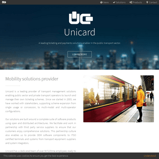 Unicard - Mobility solutions