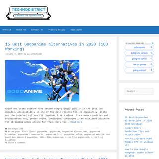 Technodistrict - Explore the Technology