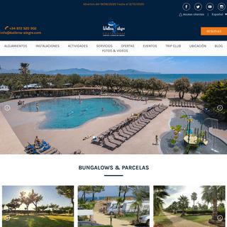 Camping & Bungalow Resort La Ballena Alegre Costa Brava