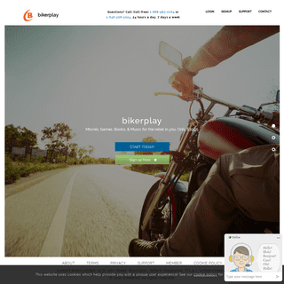 bikerplay - Unlimited Movies, Games, Music and E-books