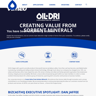Oil-Dri Corporation - Creating Value From Sorbent Minerals