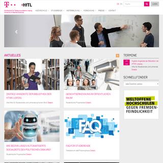 Hochschule für Telekommunikation Leipzig- Bachelor- und Master-Studium - HfT-Leipzig