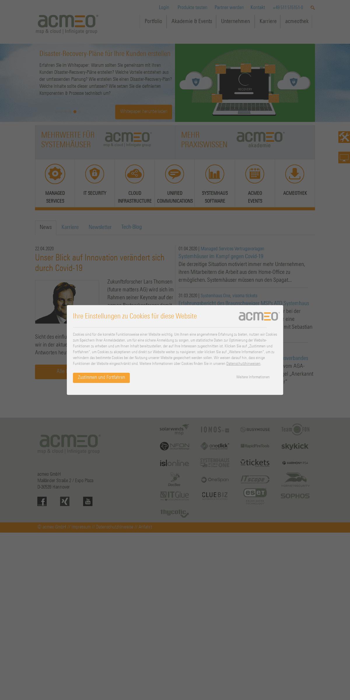 ArchiveBay.com - acmeo.eu - acmeo - Die gute Cloud und Seminare für Systemhäuser