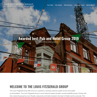 The Louis Fitzgerald Group Online - Privately Owned Hospitality Group