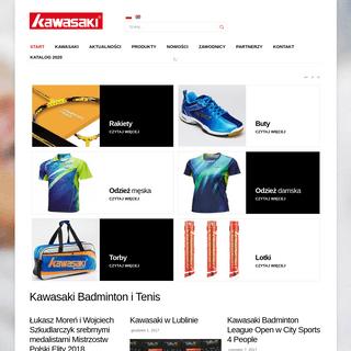 ArchiveBay.com - kawasaki-sport.eu - Start - Kawasaki Badminton i Tenis
