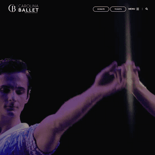 Carolina Ballet – Carolina Ballet is a vibrant, young, and highly respected company based in Raleigh, North Carolina, directed