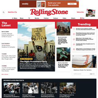 Rolling Stone - Music, Film, TV and Political News Coverage